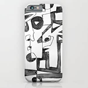 Society6 - Black And White iPhone 6 Case by 5wingerone wangjiang maoyi