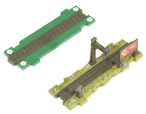 (Basic Fun XTS Train Signal Light and Straight Expander Track)