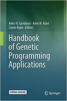 Book Handbook of Genetic Programming Applications