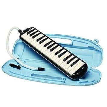 Nueva Suzuki study-32 C negro alto Melodion melódica M 32 Clave Caso, boquilla: Amazon.es: Instrumentos musicales