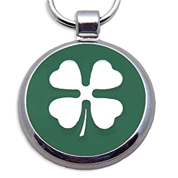 amazon pet id tag clover jewelry tag custom engraved cat and