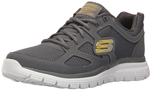 Skechers Men's Burns Agoura Sneaker Charcoal wide range of buy cheap under $60 cheap outlet locations big discount cheap online good selling for sale 0BhtHMn