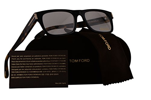 Tom Ford FT5274 Eyeglasses 54-18-145 Shiny Black w/Demo Clear Lens 001 - Tom Kids For Ford