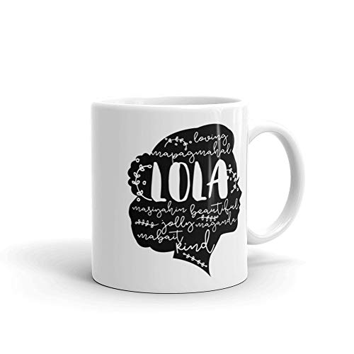 MUGS - Lola - Filipino Word Mug- Coffee Mug, Tea Mug, Cute Mug - Gift, cute gift, Souvenir, 11oz, 15oz