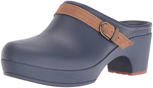 Crocs Women's Sarah Clog Mule, Navy, 8 M (Blue Womens Clogs)