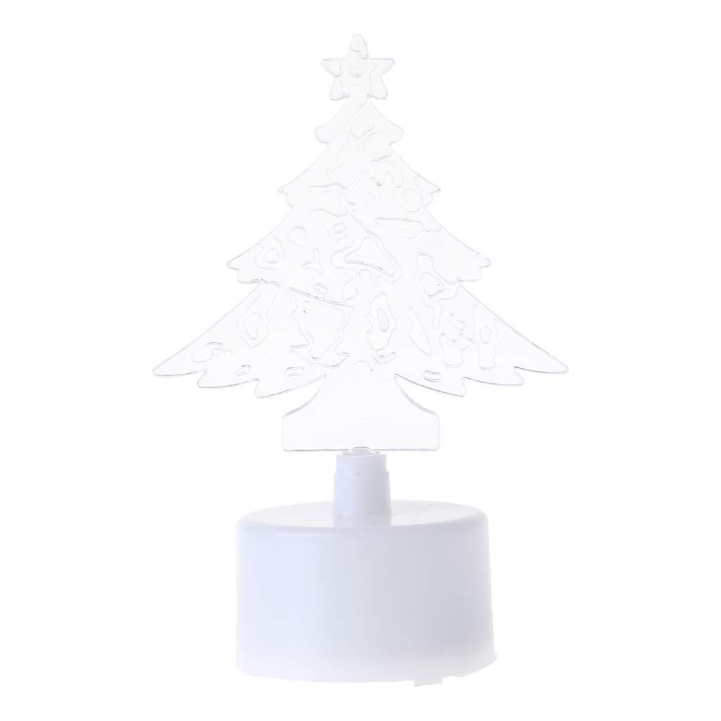 Hijing Christmas Tree LED Night Light,Changing Color for Decorative Wall Lamp Home Christmas Party Decor