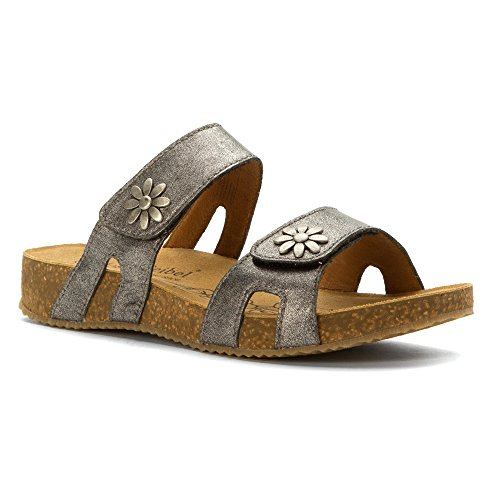 Josef Seibel Women's Tonga 04 Slide Sandal, Basalt, 38 EU/7-7.5 M US by Josef Seibel