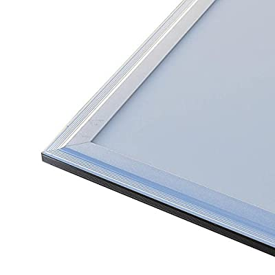 LEDwholesalers Ultra Thin Glare-Free Edge-Lit LED Light Panel 12x12-Inch 12-Watt, White, 2101WH