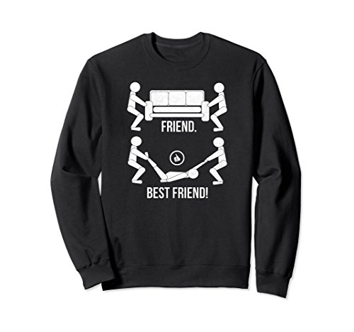 Funny Friend Best Friend Sweatshirt Friends Birthday Gifts