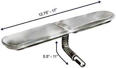Grill Care TH204-1204 Universal Single Venturi Small Aluminized Steel Bar Burner