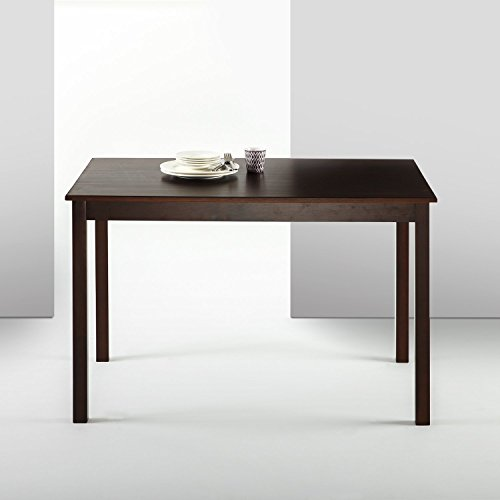 Zinus Juliet Espresso Wood Dining Table / Table ()