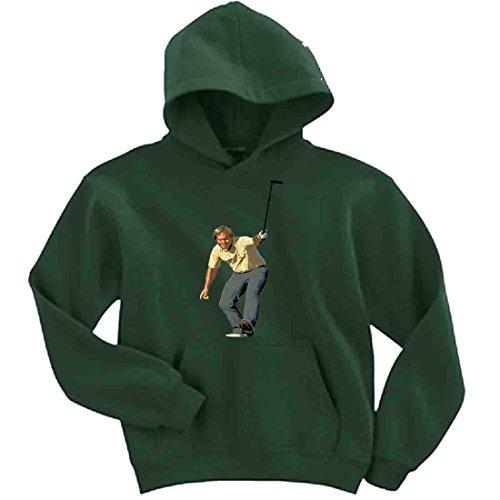 The Silo GREEN Jack Nicklaus The Masters Hooded Sweatshirt ADULT (Master Adult Sweatshirt)