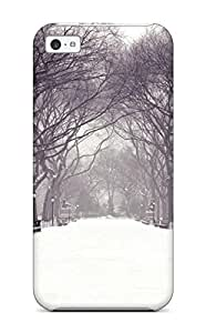 For Iphone Case, High Quality Winter For Iphone 5c Cover Cases wangjiang maoyi