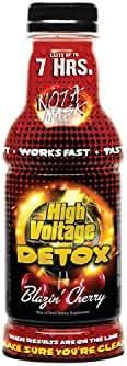 High Voltage Detox Drink 16oz Blazin' Cherry