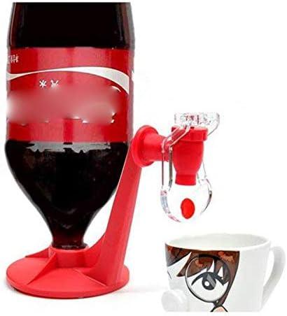 Red GreceMonday Coke Bottle Inverted Water Dispenser Drinking Fountain Drink Machine Switch Drinking Water Soda Drinker