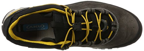 AKU Climatica Suede GTX, Scarpe Sportive Outdoor Uomo Grigio (Antracite/Yellow 168)
