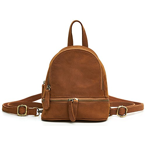 TOREEP Leather Backpacks Womens Small Leather Backpack - Branded Outlet Singapore