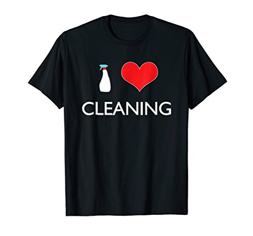 I Love Cleaning T-shirt Neat Freak Gifts Virgo Spring Shirt