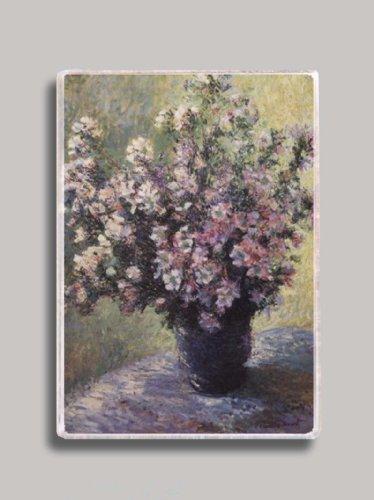- Claude Monet Vase of Flowers Refrigerator Magnet