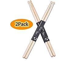 5A Drumsticks, Astory Wood Tip Drum Sticks,...