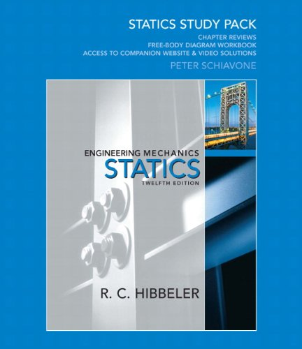 Statics Study Pack for Engineering Mechanics