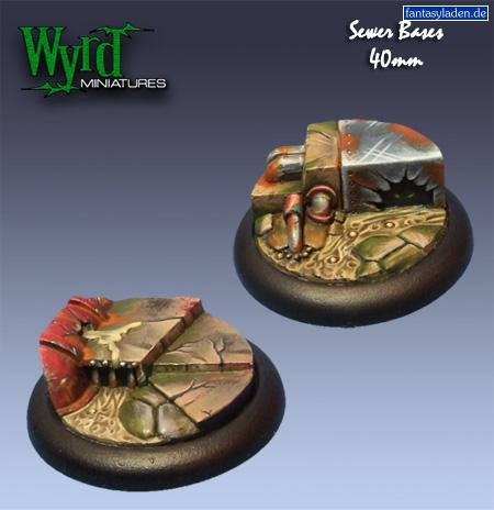 (Wyrd Base Inserts - Sewer - 40mm)