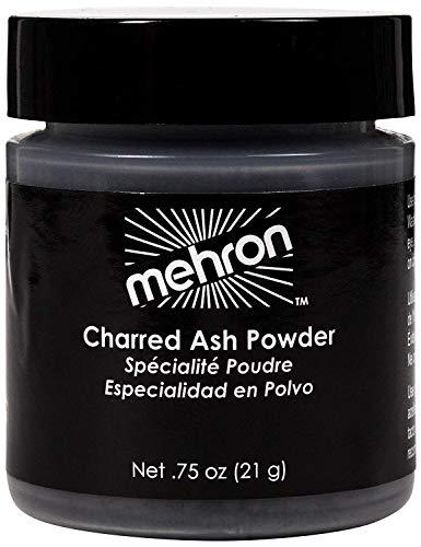 Mehron Makeup Special Effects Makeup Powder Charred Ash (.75 oz)