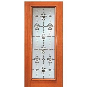 Mahogany Artistic Glass Door 902 Series - AAW Doors Inc.  sc 1 st  Amazon.com & Mahogany Artistic Glass Door 902 Series - AAW Doors Inc ... pezcame.com