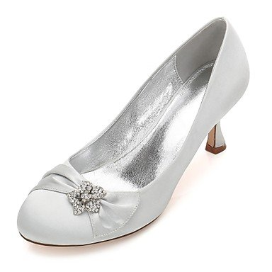 Shoes UK6 Rhinestone Bowknot CN39 Confort amp;Amp; Noche Wedding De Heelivory Satin Primavera Las Azul US8 EU39 Mujeres'S Champán Vestido RTRY Rubí Plana Boda Verano O6Bgwtq7