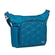 Lug Sidecar Cross Body and Waist Pack Messenger Bag, Ocean Blue