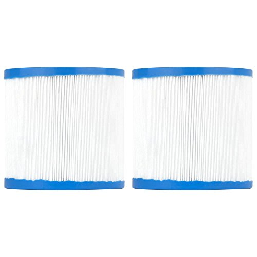 (Clear Choice Pool Spa Filter 4.25 Dia x 4.00 in Cartridge Replacement for Waterway Skim Filter Aladdin 11003, [2-Pack])