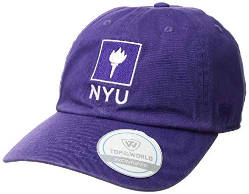 - Top of the World New York University Violets Women's Hat Icon, Purple, Adjustable