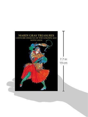 Mardi Gras Treasures Costume Designs Of The Golden Age Notecards Schindler Henri 9781565549111 Amazon Com Books