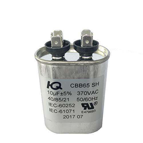 (QH QX6510 Capacitor Motor Run Oval 10 uF MFD 370V)