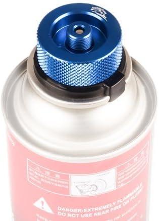 Jeebel Camp Convertidor de gas, para cartucho de butano para tornillo de cartucho de gas/adaptador de válvula tipo Lindal