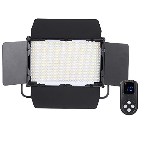 Andoer 1040pcs LED Beads Video Studio Photography Light Lamp CRI 95+ 7680LM 5600K Adjustable Brightness for Canon Nikon Sony Camera Camcorder by Andoer