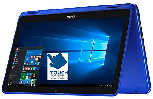 Dell Inspiron 11.6' HD 2-in-1 Convertible Touchscreen Laptop (Tablet), Intel Quad-Core Pentium N3710 up to 2.56GHz, 4GB RAM, 500GB HDD, MaxxAudio, WLAN, Bluetooth, HDMI, Webcam, Windows 10