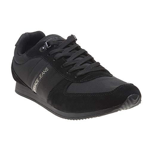 Versace Jeans Runner Mens Sneakers Black