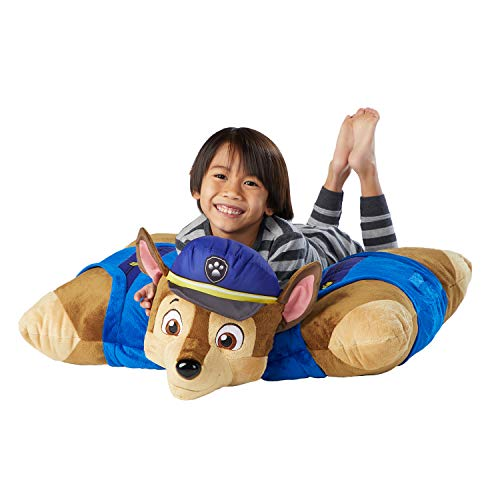 Pillow Pets Jumboz Pillow for Paw Patrol, Chase, 30