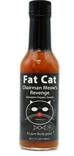 Fat Cat - Chairman Meow's Revenge: Scorpion Pepper Sauce Hot Sauce sold by Fat Cat Gourmet Foods