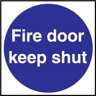 Fire Door Keep Shut Sign / Notice (Self - Adhesive) - make everyone aware  sc 1 st  Amazon UK & Fire Door Keep Shut Sign / Notice (Self - Adhesive) - make everyone ...