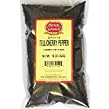 Spicy Natural Products Whole Black Peppercorns Tellicherry # (Pack of 9)