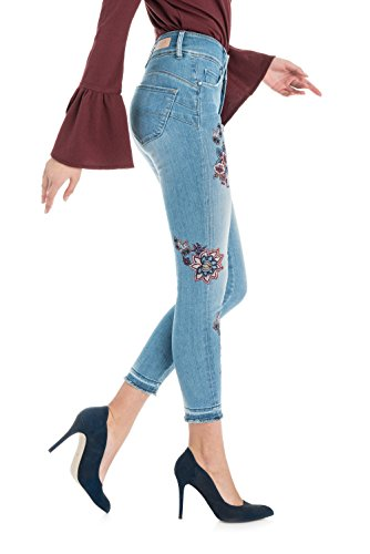 E Capri Azzuro Denim Salsa In Ricami Secret qUxIxw5Y
