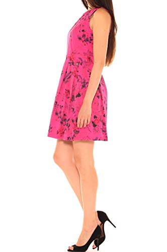 Rosa scuro Kleid Damen Di Key q7wTOO