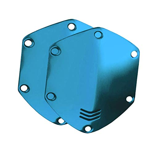 V-MODA Crossfade Over-Ear Headphone Metal Shield Kit (Ocean Blue)