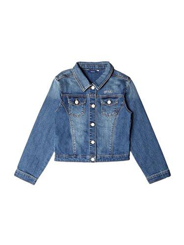 GUESS Girl's Denim Jacket (7-16) (Rhinestone Girls Jeans)