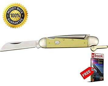Amazon.com: Rough Rider 897 - Cuchillo plegable con mango ...