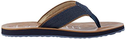 Blau 455 Flip 100 Bugatti Schwarz K15846 Herren Flops Jeans Schwarz qW0Hv