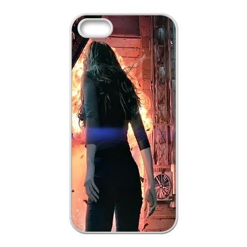 Total Recall 2 coque iPhone 4 4S cellulaire cas coque de téléphone cas blanche couverture de téléphone portable EOKXLLNCD20489