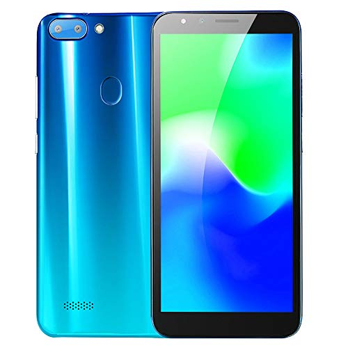 Unlocked Smartphone,2019 New5.5''Ultrathin Android 6.0 Octa-Core 512MB+4G GSM WiFi Dual Mobile Phone Cell Phone (Blue)